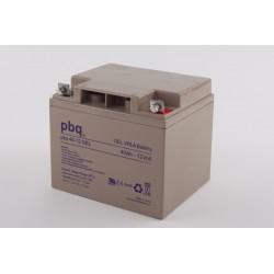 Akumulator GEL PBQ 40Ah - 12V