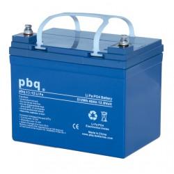 Akumulator LiFe PBQ 33Ah - 12V