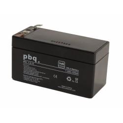 Akumulator AGM PBQ 1,2Ah - 12V