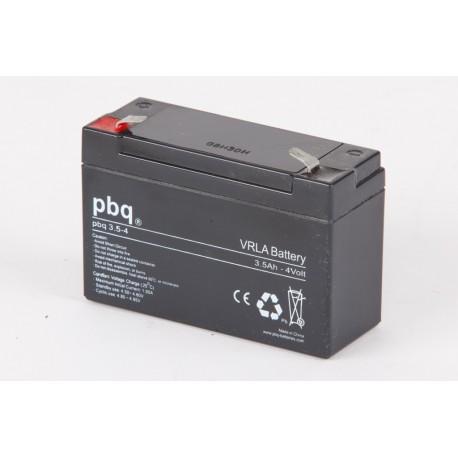 Akumulator AGM PBQ 3,5Ah - 4V