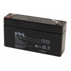 Akumulator AGM PBQ 1,2Ah - 6V