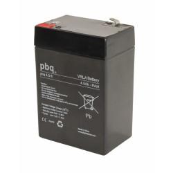 Akumulator AGM PBQ 4,5Ah - 6V