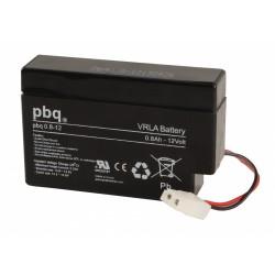 Akumulator AGM PBQ 0,8-12