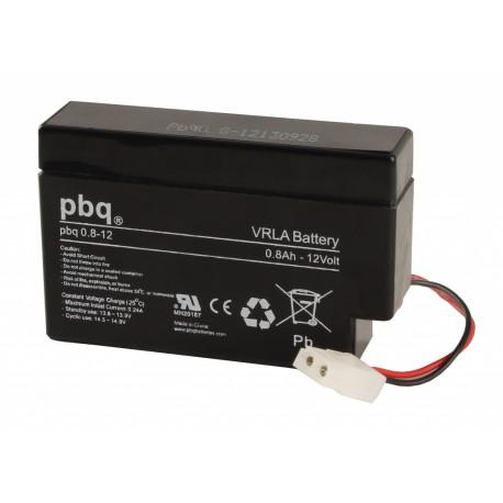 Akumulator AGM PBQ 0,8Ah - 12V