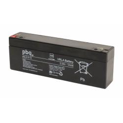 Akumulator AGM PBQ 2,3Ah - 12V