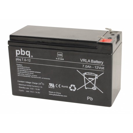 Akumulator AGM PBQ 7Ah - 12V