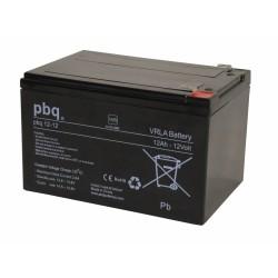 Akumulator AGM PBQ 12Ah - 12V