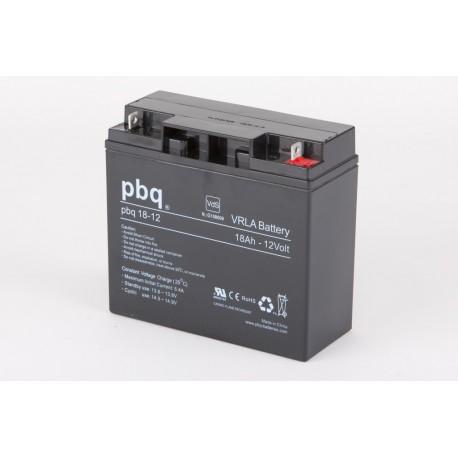 Akumulator AGM PBQ 18Ah - 12V