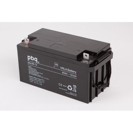 Akumulator AGM PBQ 65Ah - 12V