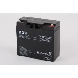 Akumulator AGM PBQ HR 22Ah - 12V